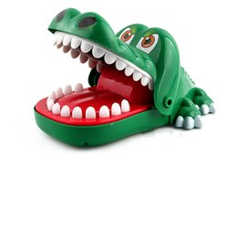 Crocodiles Alligator Toys Australia - Creative Family Games Biting Hand Crocodile Game 2018 Big Size Practical Jokes Mouth Tooth Alligator Hand Children's Toys Classic Games Kids