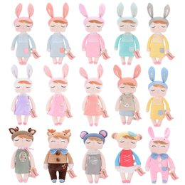 Discount inflatable girls toys - Accessories Dolls Official METOO Plush Angela Dolls Girl Wear Skit Gift Toys for Kids Children Stuffed Toys for Gifts 12