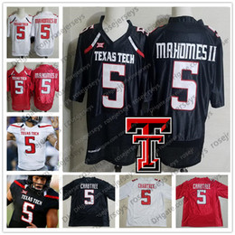 RaideR white online shopping - NCAA Texas Tech Patrick Mahomes II Black KC Jersey TTU Red Raiders Michael Crabtree College Football White Kansas City Jerseys