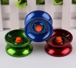 Metal Fidget Spinner Metal Yoyo Дизайн Высокоскоростная Профессиональная Yoyo Шарикоподшипник Струна Трюк Yo-You Kids Magic Toggling Игрушка на Распродаже