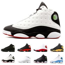 3e28b339b55 He Got Game 13 XIII 13s mens basketball shoes Phantom Hyper Royal Italy  Blue Chicago Bred DMP Olive Ivory Black Cat Men 8-13