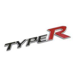 Words For Bike Stickers Australia - 3D Metal TYPE-R Car Sticker Emblem Badge for Universal Cars Moto Bike Decorative Accessories