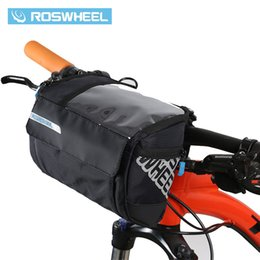 $enCountryForm.capitalKeyWord UK - wholesale 3L Bicycle Handlebar Bag MTB Road Cycling Front bar Pannier Pouch 400D PVC Map Bags Basket Bike Accessories 111271