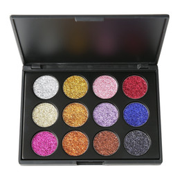 $enCountryForm.capitalKeyWord Canada - Private Label Makeup Palette Extremly 12 colors Pressed Glitter Eyeshadow Eye Shadow Palette High Pigment Glitters Make up eyeshadow palette