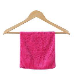 Swimwear Infant Australia - Cute Microfiber Absorbent Drying Bath Beach Towel Washcloth Infant Soft Swimwear Baby Towel