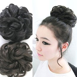 hair clip tail curly 2019 - Beauty Lady Wavy Curly Pony Tail Hair Bun Clip Hair Extension Hairpiece M03310 cheap hair clip tail curly