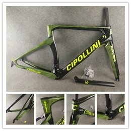 headset road Canada - 1K 3K Carbon Cipollini NK1K Frame Camouflage Green Carbon ROAD Bike Bicycle Frameset Fork+ Seatpost+ Clamp+ Headset