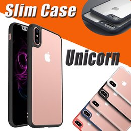 $enCountryForm.capitalKeyWord UK - Unicorn Beetle Slim Transparent Soft Back Cover Case For iPhone XS Max XR X 7 6 6S Plus 5 5S Samsung Galaxy Note 8 S8 Camera Lens Protection