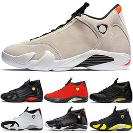 a2b87720c2ec Men 14 14s Basketball Shoes Desert Sand DMP The Last Shot Thunder Black Toe  Candy Cane Indiglo Designer Trainer Sport Sneaker Size 41-47