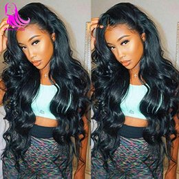 cambodian loose curly hair 2019 - Pervian Body Wave 4 Bundles Bouncy Curly Human Hair Weaves Bodywave 26 28 30inch Bresilienne Cambodian ROSA Cheveux Natu