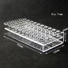 MOQ = 10 pcs DHL Livre Acrílico Display Showcase Stand Rack para 92A3 CE3 CELL Cartuchos atomizador ecigs rack Titular Cigarro Eletrônico
