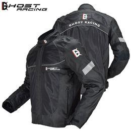 Nylon Racing Motorcycle Jacket Australia - New winter four seasons breathable motorcycle off-road jackets riding jackets Racing Wear men's off-road jacket windproof Reflector