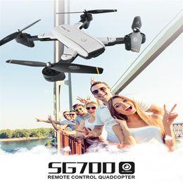 $enCountryForm.capitalKeyWord NZ - 2018 New RC Drone Camera SG-700 Mini WiFi FPV Camera Remote Control Helicopter Satellite Navigation Foldable RC Drone Quadcopter