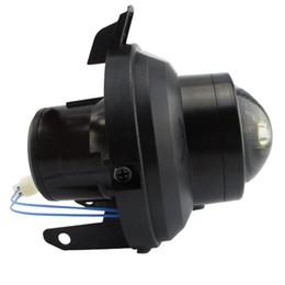 Spotlight bulb typeS online shopping - Front bumper headlight halogen LED hid H8 H9 bulb spotlight High Low Beam fog light lens house assembly for CHEVROLET TRAX TRACKER TYPE