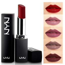 Branded Lipsticks Australia - barra de labios Branded Lipstick Tint Long Lasting Moisturizing Red Lip Makeup Lippenstift Matt Lot Lipstick Beauty Kozmetik
