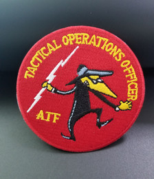 $enCountryForm.capitalKeyWord Australia - TACTICAL OPERATIONS OFFICER AFF Police Embroidery patch Motorcycle Patch Biker Chopper Patch for Jacket