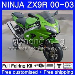 $enCountryForm.capitalKeyWord UK - ALL Gloss green Body For KAWASAKI NINJA ZX 900 9 R ZX 9R 2000 2001 2002 2003 216HM.25 ZX900 ZX-9R 900CC ZX9 R ZX9R 00 01 02 03 Fairings Kit