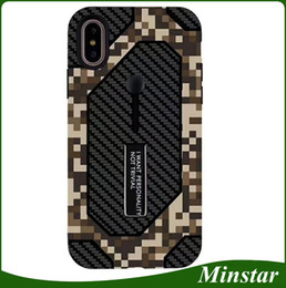 Discount samsung j7 mobile - Camouflage Silicone Ring Mobile Phone Cover 2 in 1 Protector Case for Samsung Note 9 S9 Plus S8 Plus J3 2018 Acheive J7