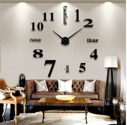 home decoration accessories modern wall clock farmhouse decor living room decoration nightmare before christmas big wall clock