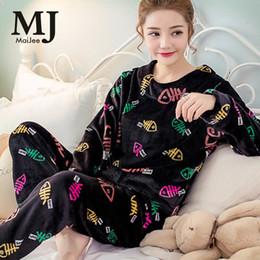 604ccc2063 Winter Pajamas For Women Pijama Mujer Flannel Pigiama Donna Primark Thicker  velvet Pyjamas Women Pajama Sets Pijama Feminino D18110502