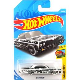 54 Car Australia - Free shipping Hot wheels 54 Impala Car Model Toy 326