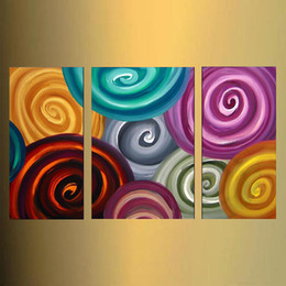 $enCountryForm.capitalKeyWord Australia - hand painted 3 panel oil paintings modern abstract home goods wall art discount modern sofa set design unique gifts Kungfu Art