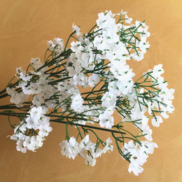 Fake Baby S Breath Flowers Australia - Free shipping New Arrive Gypsophila Baby' s Breath Artificial Fake Silk Flowers Plant Home Wedding Decoration lin4308