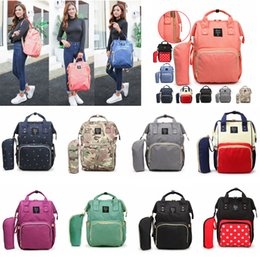 Chinese  10 Styles Mommy Backpacks Mother Pack Nappies Diaper Bags Camo Waterproof Maternity Handbags Nursing Travel Outdoor Bags 20pcs AAA786 manufacturers