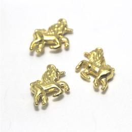Silver unicorn charm online shopping - 10pcs Unicorn Charms Antique gold tone Lovely Unicorn Horse Charm Pendant x20mm