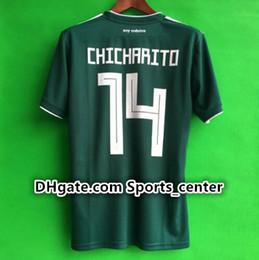 6e4353349 ... new world cup 2018 mexico soccer jersey home 17 18 green away white  chicharito camisetas de