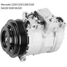 AC компрессора для Mercedes С220 С230 C280 Е320 SLK230 S500 и ML320 0002302011 000230201160 000230201180 000230201188 5117679AA 0002303911