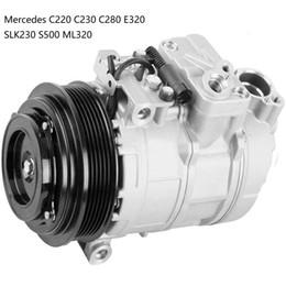 Vente en gros Compresseur AC Pour Mercedes C220 C230 C280 E320 SLK230 S500 ML320 0002302011 000230201160 000230201180 000230201188 5117679AA 0002303911