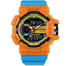 $enCountryForm.capitalKeyWord UK - 2018 Smael Sport Watch LED Digital Watch 50M Wateproof Men's Wristwatch S Clock Men Fashion Dive relogio masculino