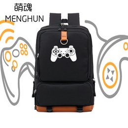 XboX classics online shopping - Game concept Simple design TV game console controller printing PS controller XBOX classic fans backpacks NB117