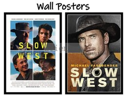 pink decorative paintings Australia - Slow West Movie Home Decorative Painting White Kraft Paper Poster 42X30cm