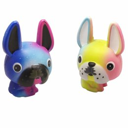 Chinese  Long Ears Dog Decompression Toy Slow Rising Squishy PU Flash Powder Kawaii Scent Christmas Gift Squishies Stress Reliever Prop 18fy Y manufacturers