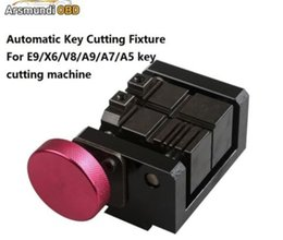 X6 automatic key cutting online shopping - New Automatic Key Cutting Fixture For E9 X6 V8 A9 A7 A5 key cutting machine Auto Car key clamp cut automatic