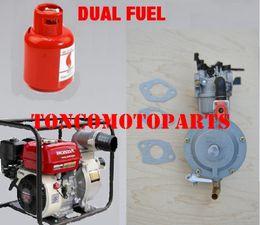 Carburetor Pump NZ - LPG NG conversion kit for water pump engine 168F GX160 dual fuel carburetor