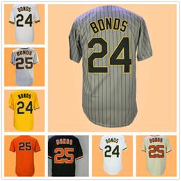 Button downs online shopping - Barry Bonds Jersey Grey Pinstripe White Orange Black Pullover Button Down Home Away Cream Yellow