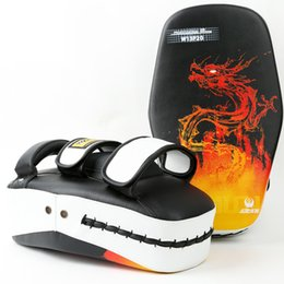 $enCountryForm.capitalKeyWord NZ - Taekwondo Free Combat Feet Target High Quality Professional Thickened Adult MMA Boxing Baffle Fighter Foot Target Thai Boxing Target Gear