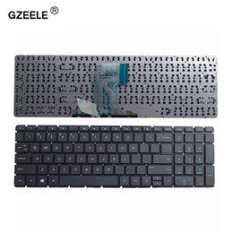 GZEELE US Клавиатура для ноутбука для Not15-AC 15-AF 15Q-AJ 250 G4 G5 255 G4 G5 256 15-AY 15-BA 813974-001 Без рамки