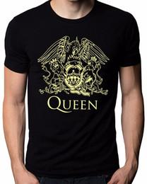 Music Man T Shirt Australia - New Design T Shirt Print O-Neck Men Queen Band Rock Music Logo Men's T-Shirt 100% Cotton Short Sleeve Tee