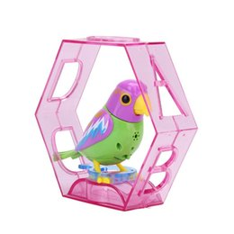 Singing Birds Toys UK - 2018 Hot Sales 20 Songs Singing intelligent Sound Control Music Toy Birds Random Color Kids Children Electric Toy