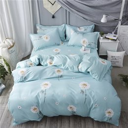 bedding plants sale NZ - Hot sale AB side Room decoration bedding sets king queen full twin size Duvet Cover + Bed Flat Sheet + Pillow Case