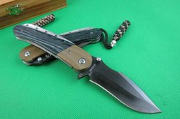 Best self defense knife online shopping - Strider Phoenix Luxury D2 BLADE g10 handle collection Folding Pocket Knife Camping Huntimg knife Best Gift freeshipping