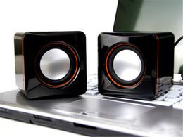 Mini altavoz portátil de 3,5 mm con conexión de cable Altavoces portátiles de escritorio Multimedia USB Ordenador Altavoz Super Bass Voice Clear en venta