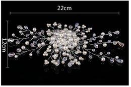 Ingrosso Vendita calda di nuovi ornamenti per la testa della sposa perla. Capelli coreano sposa Gli accessori per capelli da sposa, colore bianco.
