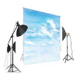 Discount painting backgrounds oils - HUAYI Photography Backdrops Sky Backdrop Oil Painting Background Backdrop Backgrounds Studio Photography Props XT- 7273