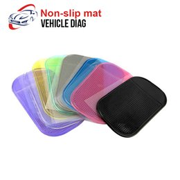 Discount cell phone accessories wholesalers - 2018 Car Non-slip mat Auto Accessories Magic Anti-Slip Dashboard Sticky Pad Non-slip Mat Holder For GPS Cell Phone Acces