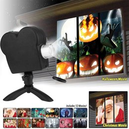 $enCountryForm.capitalKeyWord Australia - 12 Movies Window Projector Halloween Outdoor Window Display Mini Projectors Laser Lamp Spotlights Christmas Party Decoration
